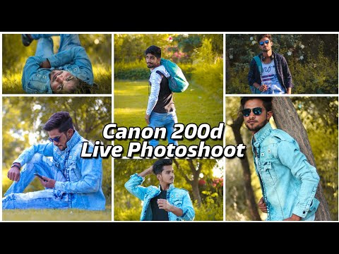 Live Photo Shoot With Canon 200d || Full Photos Samples || Poses For Boys