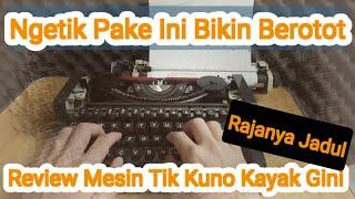 Download Mp3 Review Mesin Tik Type Writer Kuno Jadul Olympia Traveller De Luxe