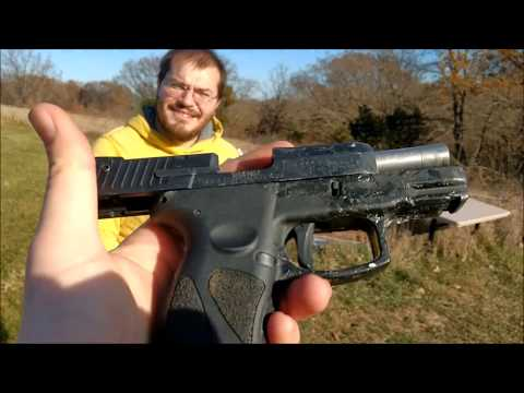 Never Shot a Gun Before: Taurus PT111 Vs Glock 19