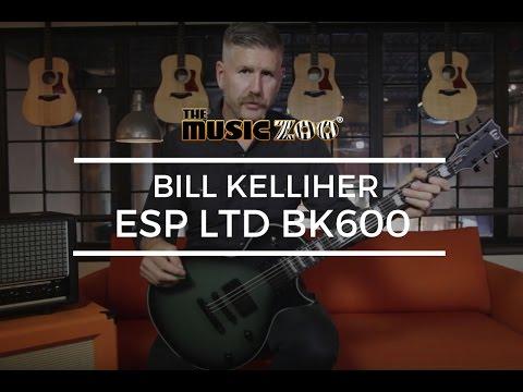 Bill Kelliher Showcases his ESP LTD BK600 Signature Guitar