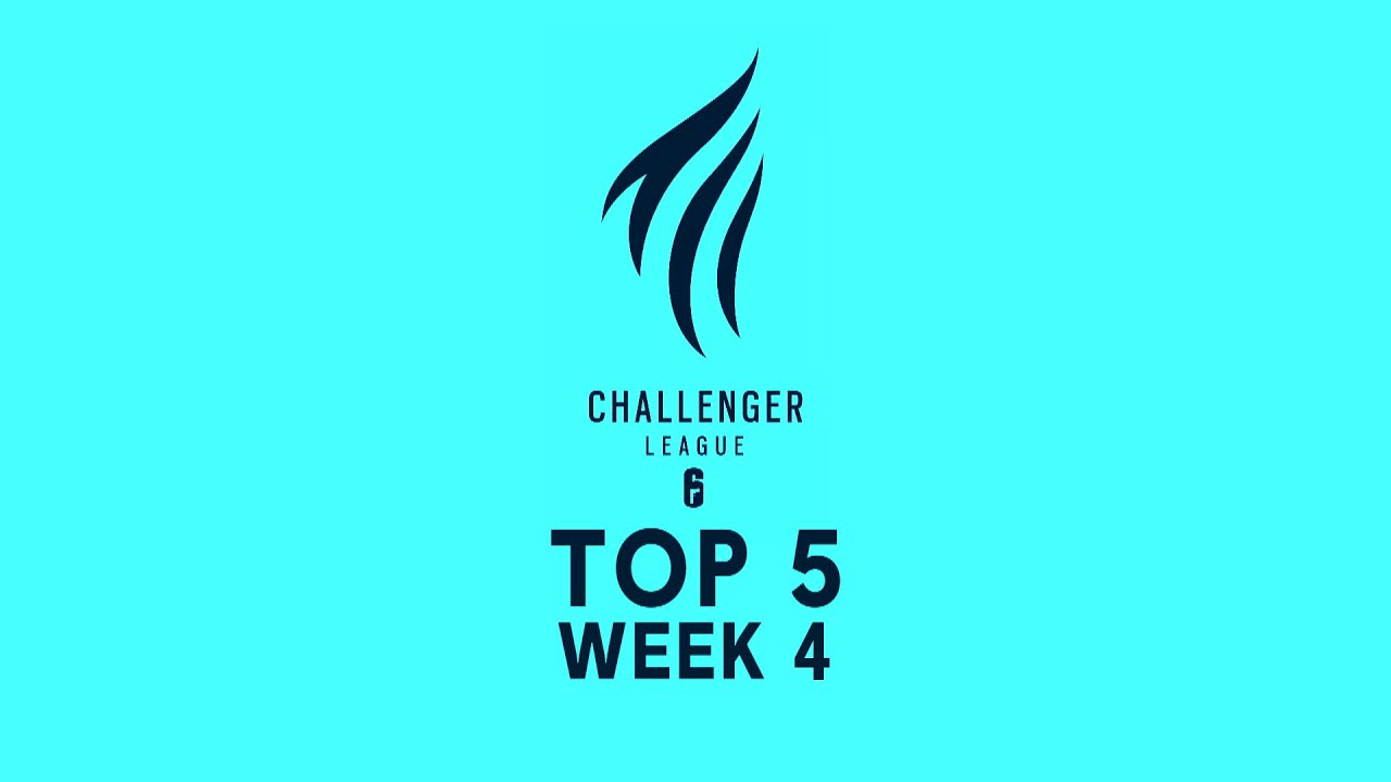 Top 5 plays - Rainbow Six Siege's European Challenger League 2020, week 4