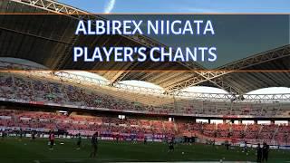アルビレックス新潟の選手チャントのメドレーです。 渡邉新太選手、加藤...