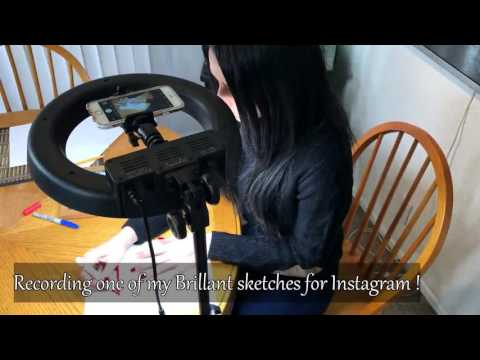 Create Better Content and Get More Followers With the Socialite 12 inch  Ring Light Kit