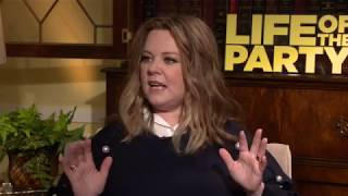 LIFE OF THE PARTY Cast Interviews - Melissa McCarthy, Molly Gordon, and Gillian Jacobs
