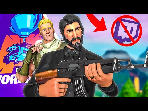 WHY PEOPLE SHOULDN&39;T STREAM THE WORLD CUP Fortnite Battle Royale