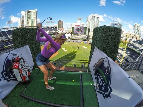 Paige Spiranac Takes Us Behind-The-Scenes at the Links at Petco