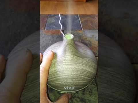 viva-naturals-ultrasonic-aromatherapy-essential-oil-diffuser-300ml,-ash-zen-model