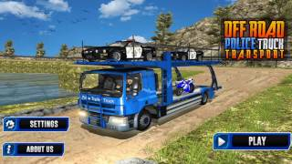 OffRoad Police Transport Truck The Game Storm Studios