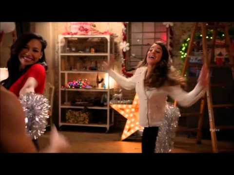 glee christmas don't be late