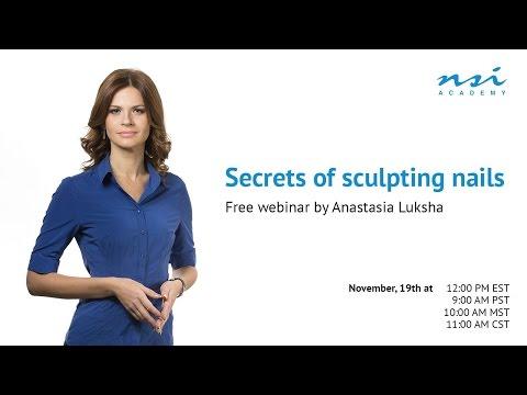 Anastasia Luksha — Secrets of sculpting nails