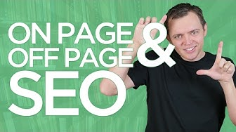 What is On-Page SEO & Off-Page SEO: SEO for Beginners Tutorial