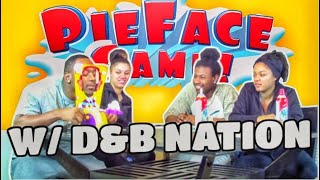 PIE IN THE FACE CHALLENGE WITH D&B NATION!!!