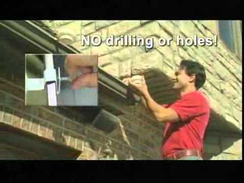 Solar Gutter Lights Youtube
