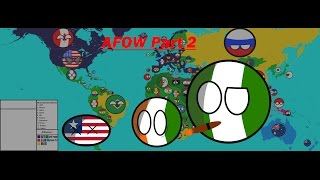 Alternate Future of the World in Countryballs: part 2 (OLD)
