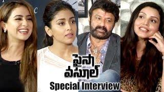 Paisa Vasool Movie Team Special Interview || Balakrishna, Puri Jagannadh, Shriya Saran