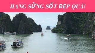 Du lịch Vịnh Hạ Long- Thăm Hang Sửng Sốt và đảo Ti Tốp  // Cuộc Sống Canada- Vợ Việt Chồng Tây