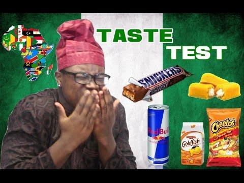 AFRICANS TRY AMERICAN SNACKS | Taste Test