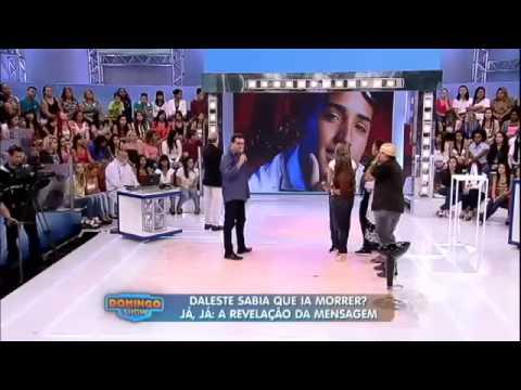 Mensagem surpreendente que MC Daleste deixou antes de morrer   Domingo Show   300314