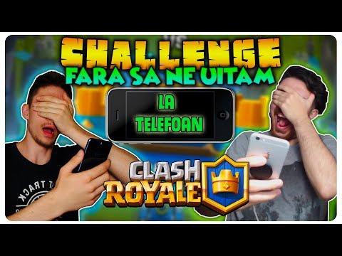 Jucam fara sa ne uitam la telefon cu boddy | Clash Royale Romania