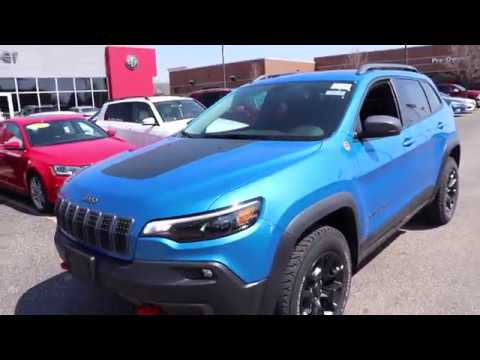 2019 Jeep Cherokee Trailhawk Youtube