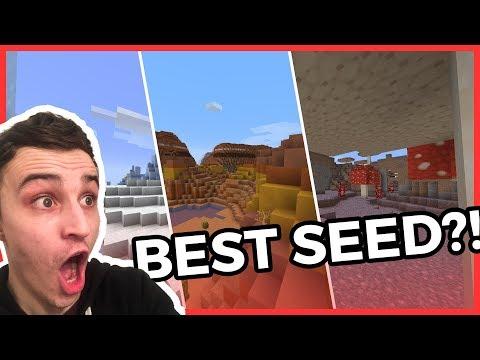 Minecraft 1.14.4 Seed Spotlight: The BEST Minecraft Seed?!