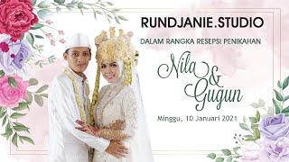 Live Streaming Rundjanie.studio - Wedding NILA & GUGUN