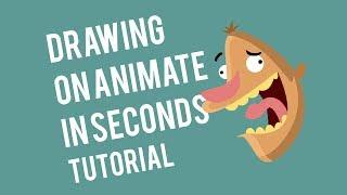 Tutorial membuat karakter animasi dengan Adobe Animate