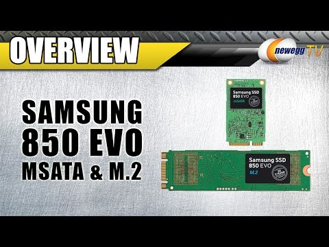 Samsung 850 EVO mSATA & M.2 Overview - Newegg TV