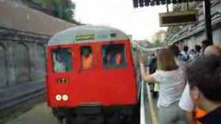 Last ever train to Shoreditch Station