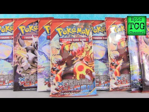 Opening Pokemon XY Primal Clash Booster Box Packs Part 4 EpicTCGChannel