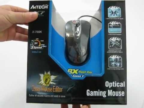 A4tech X-705K Mouse Driver Download