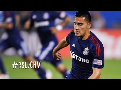 GOAL: Morales comes on and scores with the nice finish | Real Salt Lake vs. Chivas USA