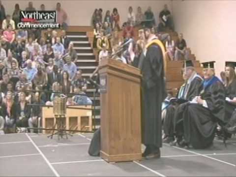 Anthony Beardslee - 2012 Commencement Speech - Northeast Community College