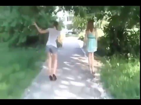 Прикол  Девушки на каблуках. Полный улёт.Смех и слёзы.