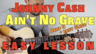 How to Play Ain't No Grave on guitar by Johnny Cash.mp3