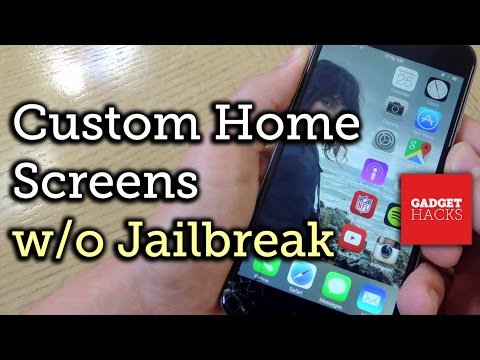 How to edit home screen on iphone 7 plus