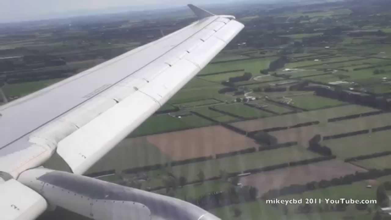 air new zealand a320 flight nz890 landing christchurch 31oct11