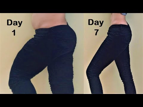 Lose Thigh Fat & Leg Fat in 1 Week with Simple Exercises – Get Slim Thighs & Toned Legs
