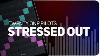Playing STRESSED OUT | Twenty One Pilots on SUPER PADS LIGHTS - KIT BURNOUT