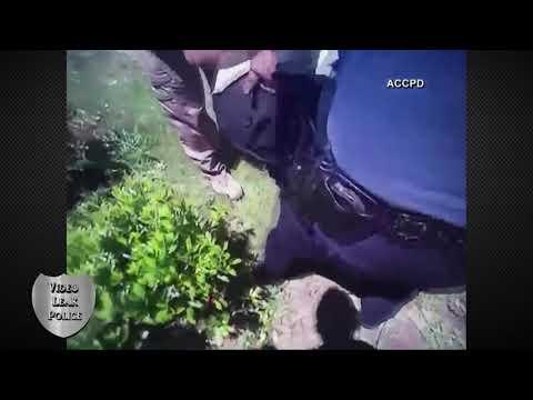 Police Body Cam Capture of Escaped Felon Athens Clarke County Police