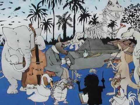 Carnival: Finale, Poem by Gerard Benson , Music by Saint-Saens, Artwork by  Satoshi Kitamura