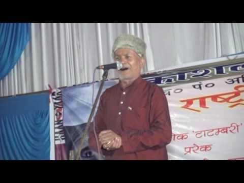 Ashok Tatambari/Koshalmahotsav2016/Rastriya kavi sammelan in Faizabad.
