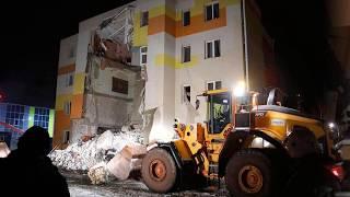 Под Белгородом из за взрыва газа обрушилась стена дома