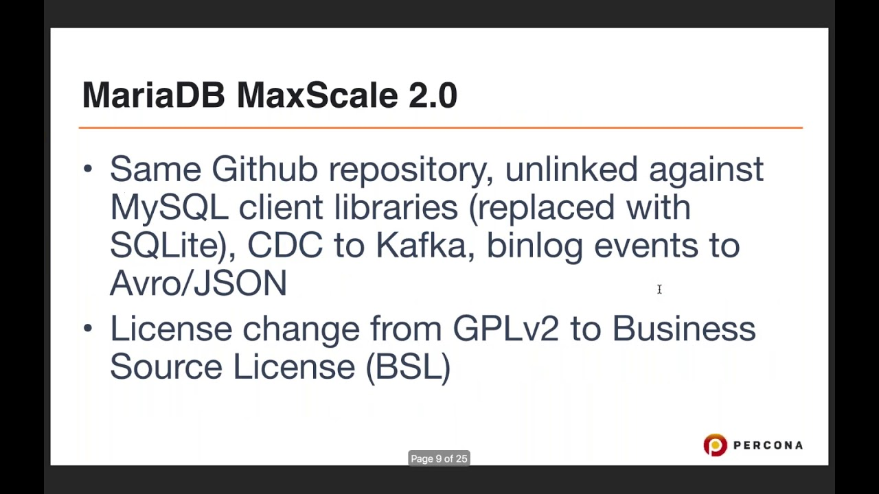 Video: The Proxy Wars - MySQL Router, ProxySQL, MariaDB MaxScale