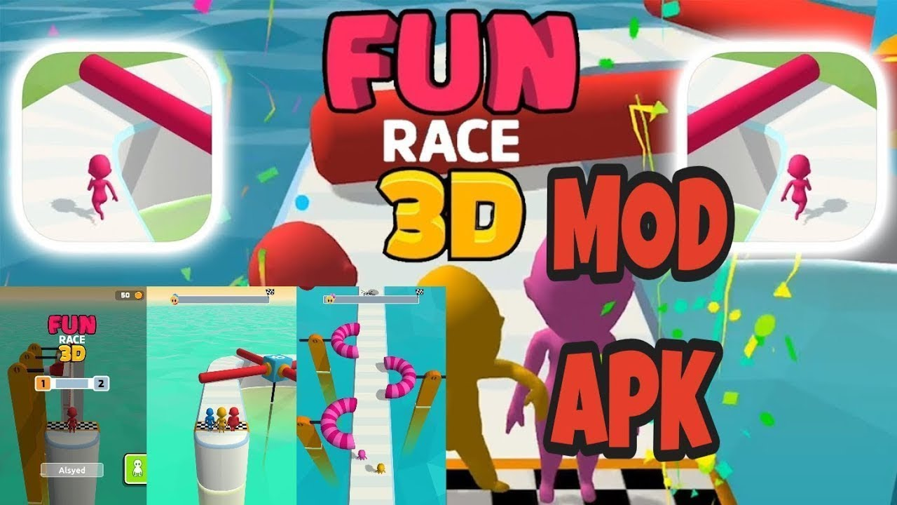 Fun Race 3D Mod Apk Gameplay
