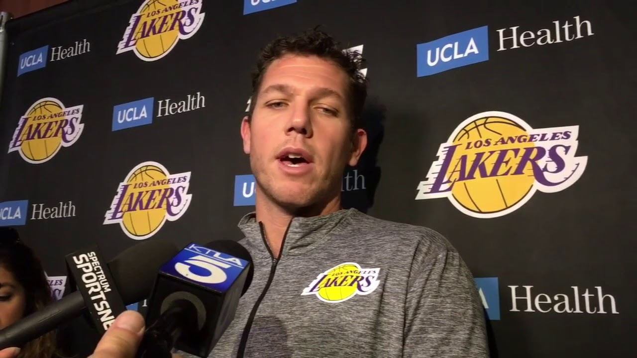 Lakers coach Luke Walton isn't concerned with LaVar Ball's comments | ESPN