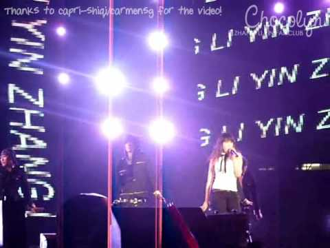 2009.02.07 SMTOWN Bangkok - Zhang Li Yin - One More Try [capri-shiqi@Chocolyn]
