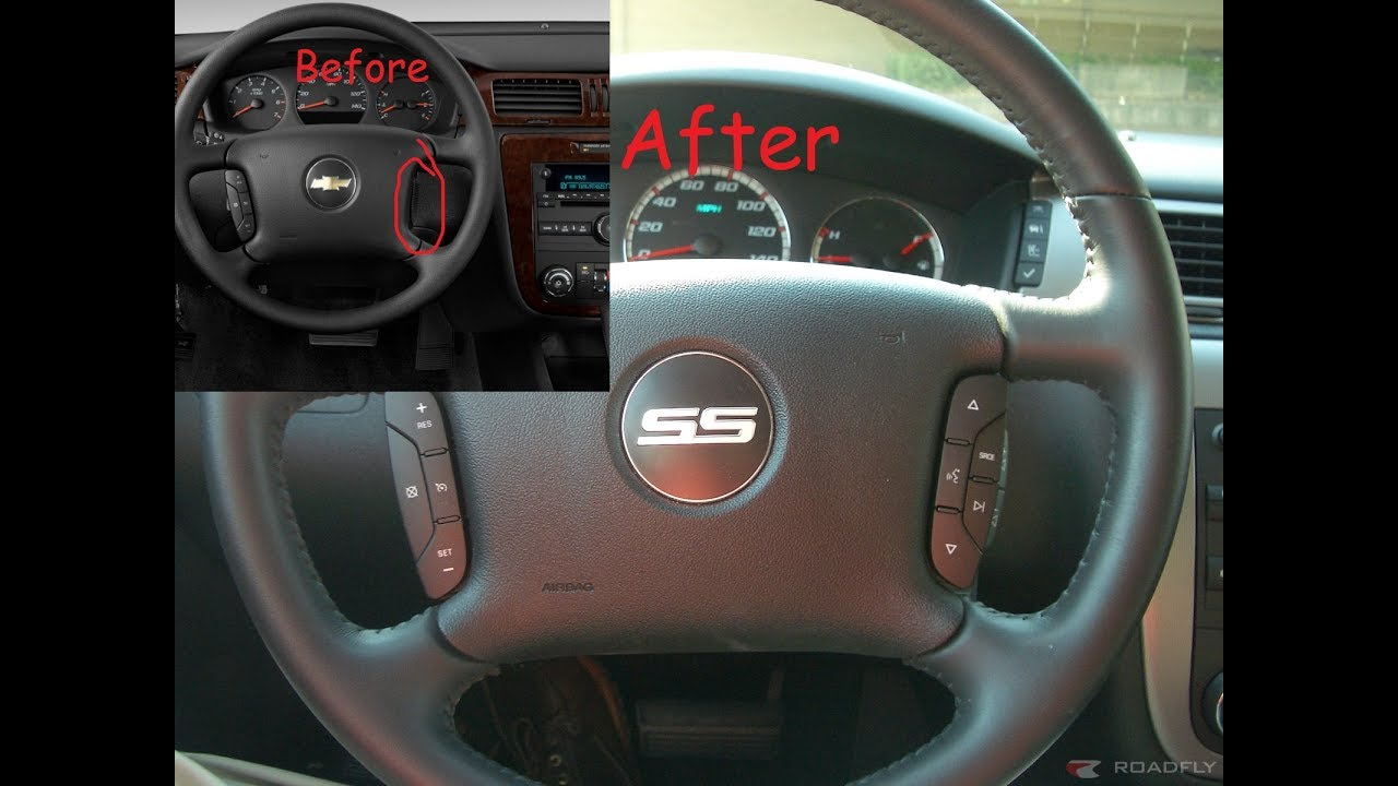 How to add steering wheel controls Impala 0613 (20142016