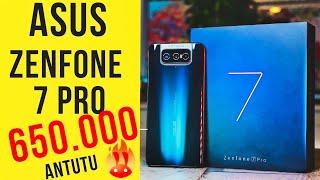 #1 ANTUTU 650.000 Самый МОЩНЫЙ Asus Zenfone 7 PRO на SNAPDRAGON 865+