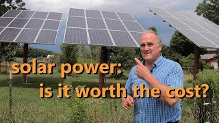 is solar power worth it? an analysis 12 years after installation
